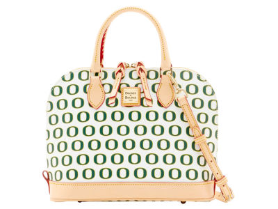Oregon Ducks Dooney & Bourke Zip Zip Satchel