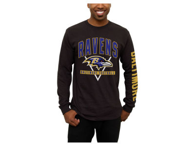 Baltimore Ravens NFL Men's Nickel Formation Long Sleeve T-Shirt