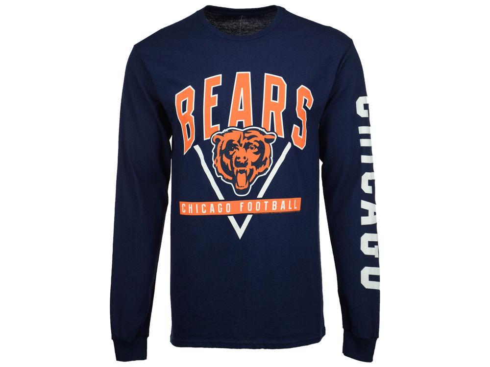 Chicago Bears NFL Men s Nickel Formation Long Sleeve T-Shirt  1f0c456b9