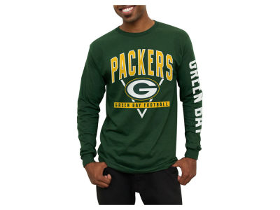 Green Bay Packers NFL Men's Nickel Formation Long Sleeve T-Shirt