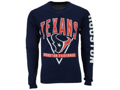 Houston Texans NFL Men's Nickel Formation Long Sleeve T-Shirt