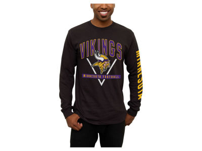 Minnesota Vikings NFL Men's Nickel Formation Long Sleeve T-Shirt