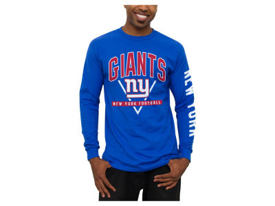 New York Giants NFL Men's Nickel Formation Long Sleeve T-Shirt