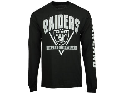 Oakland Raiders NFL Men's Nickel Formation Long Sleeve T-Shirt
