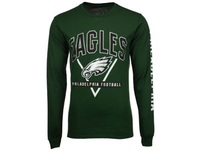 Philadelphia Eagles NFL Men's Nickel Formation Long Sleeve T-Shirt