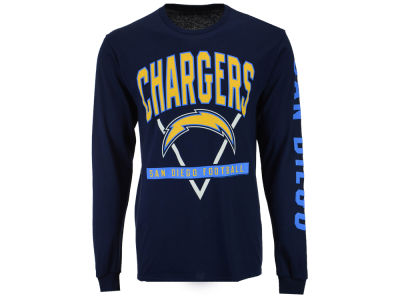 San Diego Chargers NFL Men's Nickel Formation Long Sleeve T-Shirt