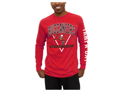 Tampa Bay Buccaneers NFL Men's Nickel Formation Long Sleeve T-Shirt
