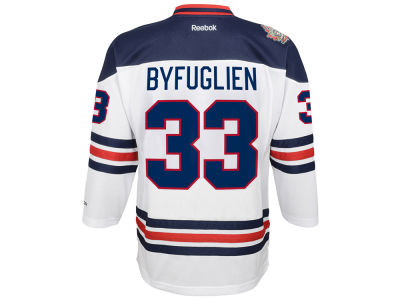 Winnipeg Jets Dustin Byfuglien Reebok NHL Youth Heritage Classic Premier Player Jersey