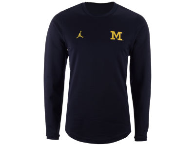 Michigan Wolverines Nike NCAA Men's Sideline Crew Sweatshirt