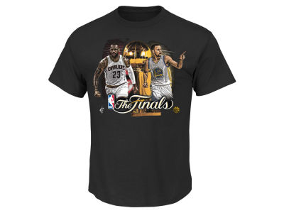 NBA All Star Majestic NBA Men's Finals Fire to Win Dueling T-Shirt