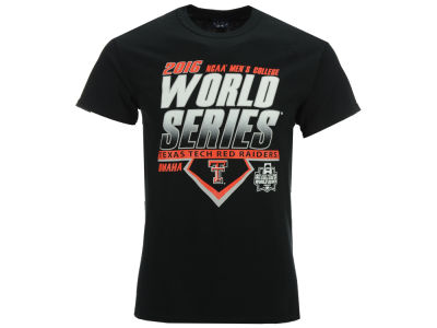 Texas Tech Red Raiders NCAA Men's College World Series Diamond Team T-Shirt