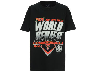 Texas Tech Red Raiders NCAA Youth College World Series Diamond Team T-Shirt