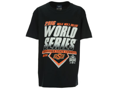 Oklahoma State Cowboys NCAA Youth College World Series Diamond Team T-Shirt