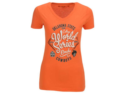 Oklahoma State Cowboys NCAA Women's College World Series Scripted Team T-Shirt