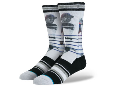 New York Yankees Reggie Jackson Stance MLB Legends Socks
