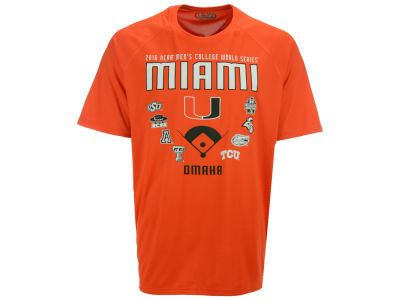 Miami Hurricanes Under Armour NCAA Men's College World Series Team T-Shirt