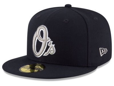 Baltimore Orioles New Era MLB Navy Gray White 59FIFTY Cap