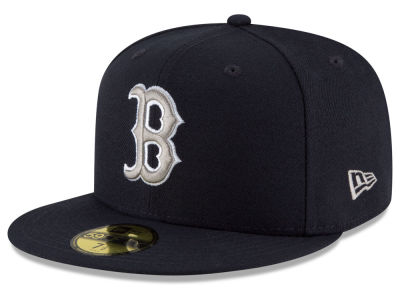 Boston Red Sox New Era MLB Navy Gray White 59FIFTY Cap
