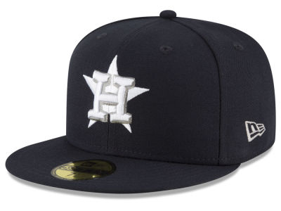 Houston Astros New Era MLB Navy Gray White 59FIFTY Cap