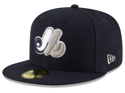 Montreal Expos New Era MLB Navy Gray White 59FIFTY Cap