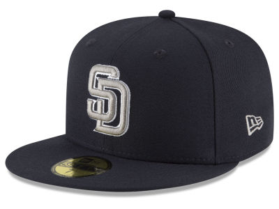 San Diego Padres New Era MLB Navy Gray White 59FIFTY Cap