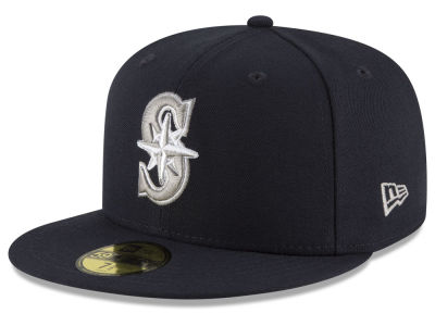 Seattle Mariners New Era MLB Navy Gray White 59FIFTY Cap