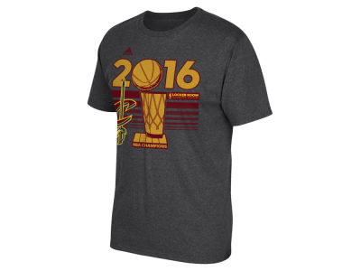 Cleveland Cavaliers adidas NBA Men's Champ Raising the Bar Locker Room T-Shirt