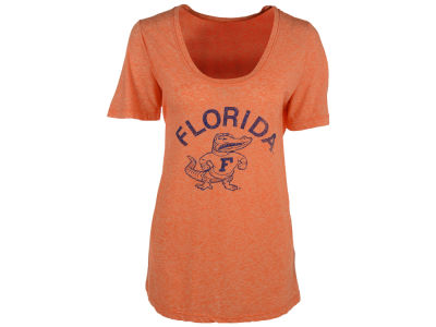 Florida Gators Retro Brand NCAA Women's Nubby Slub Scoop T-Shirt