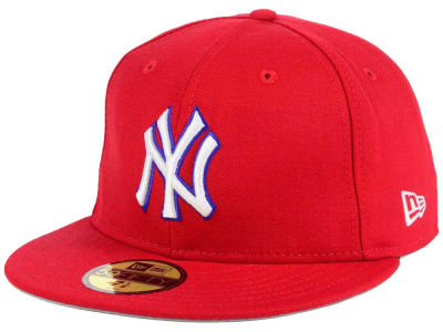 New York Yankees New Era MLB PR Custom Colors 59FIFTY Cap