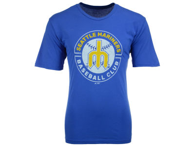 Seattle Mariners MLB Men's Long Ball Coop T-Shirt