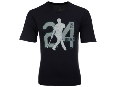 Seattle Mariners Ken Griffey Jr. MLB Men's Lux Cotton Player T-Shirt
