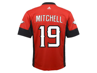 Calgary Stampeders Bo Levi Mitchell adidas CFL Men's New Premier Jersey
