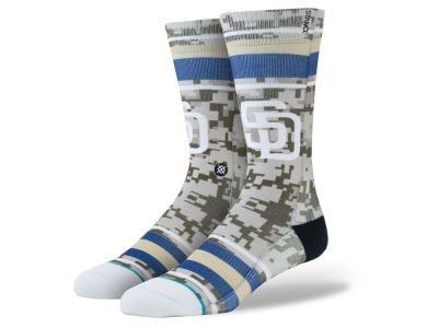 San Diego Padres MLB Diamond Collection Socks