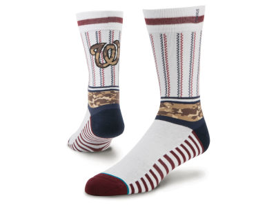 Washington Nationals Sentry Crew Socks