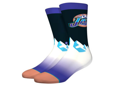 Utah Jazz NBA Hardwood Classic Socks