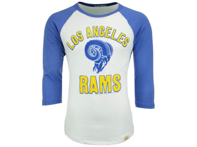 Los Angeles Rams NFL Men's Liberty Raglan Long Sleeve T-Shirt