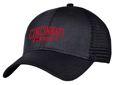 Cincinnati Bearcats Under Armour NCAA Birds Eye Mesh Trucker Cap
