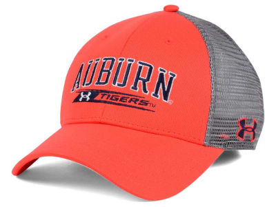 Auburn Tigers Under Armour NCAA Birds Eye Mesh Trucker Cap