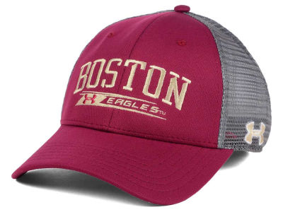 Boston College Eagles Under Armour NCAA Birds Eye Mesh Trucker Cap