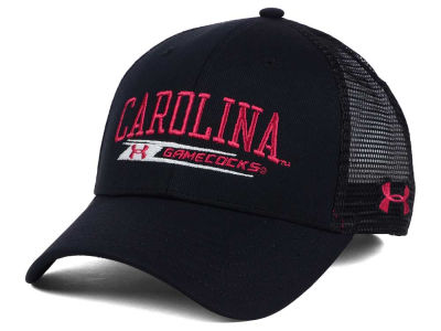 South Carolina Gamecocks Under Armour NCAA Birds Eye Mesh Trucker Cap
