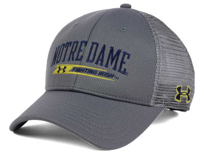 Notre Dame Fighting Irish Under Armour NCAA Birds Eye Mesh Trucker Cap