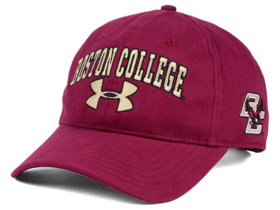 Boston College Eagles Under Armour NCAA Brushed Twill Adjustable Cap