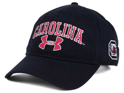 South Carolina Gamecocks Under Armour NCAA Brushed Twill Adjustable Cap
