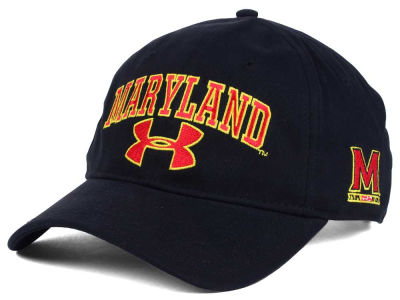 Maryland Terrapins Under Armour NCAA Brushed Twill Adjustable Cap