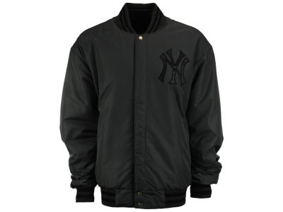 New York Yankees MLB Men's 2 Tone Wool Reversible Jacket