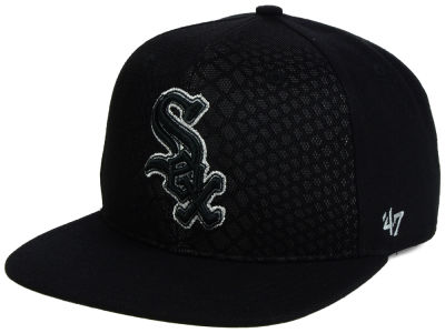 Chicago White Sox '47 MLB '47 Black Venom Snapback Cap