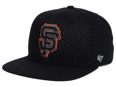 San Francisco Giants '47 MLB '47 Black Venom Snapback Cap