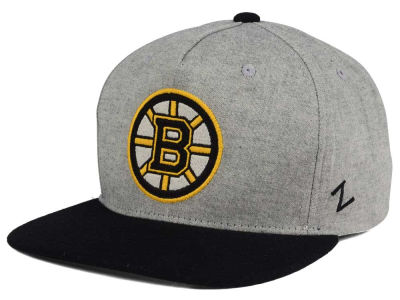 Boston Bruins Zephyr NHL Boulevard Snapback Cap