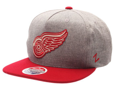 Detroit Red Wings Zephyr NHL Boulevard Snapback Cap