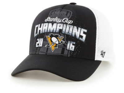Pittsburgh Penguins '47 NHL Locker Room Stanley Cup Champ '47 CLEAN UP Cap
